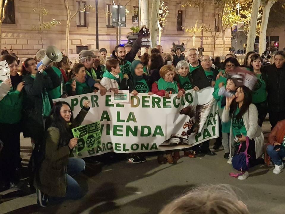 Jedan od protesta organizacije La PAH / facebook