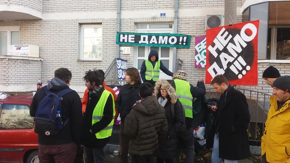 Foto: Združena akcija Krov nad glavom / Facebook