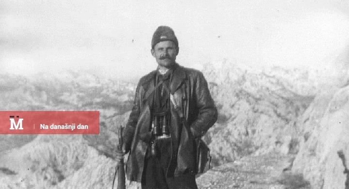 Narodni heroj Sava Kovačević, komandant Nikšićkog odreda, na položaju kod Crkvica 1941. godine