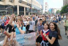 Maturanti na ulicama zahtevaju poništavanje prijemnih ispita