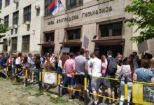 """Protest ispred gimnazije zbog """"ukidanja razvoja kritičke svesti"""""""