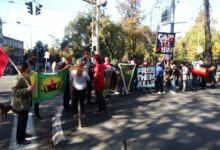 Protest protiv Turske invazije na sever Sirije održan i u Beogradu