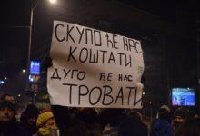 Održan protest za čist vazduh u Beogradu. Najavljen marš za čist vazduh u više gradova Srbije