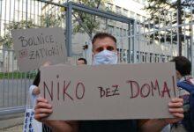 Treba da se borimo za sve ljude koji su nepravedno osuđeni, poruka je današnjeg protesta ispred Vlade