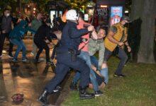 Policijska brutalnost na ulicama gradova u Srbiji