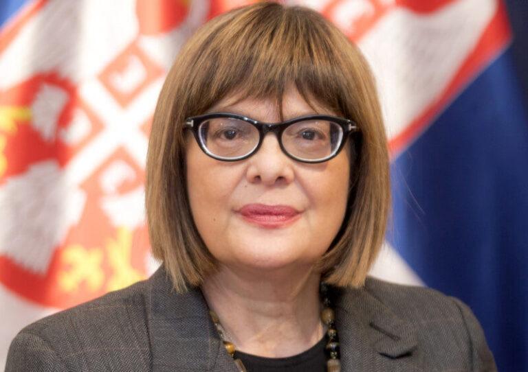 Maja Gojković; Foto: srbija.gov.rs