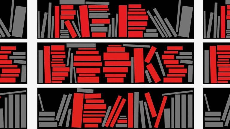 Dan crvenih knjiga - ilustracija