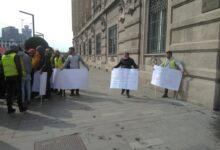 Protest stranih radnika ispred sedišta Beograda na vodi
